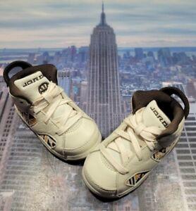 Nike Jordan 6 Retro Quai 54 Sail/Baroque Brown TD Toddler Size 6c CZ6508 100 New
