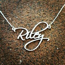 Signature name necklace Sale! sterling silver neckless - Any name Personalized