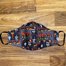 KISS Rock Band Music Face Mask ADULT Washable Three Layer Mask