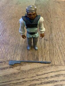 Star Wars Vintage 1983 Nikto Original and Complete With Original Weapon