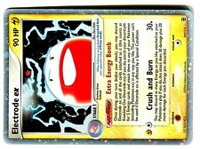 POKEMON  FIRE RED LEAF GREEN HOLO N° 107/112 ELECTRODE EX