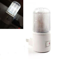 4 LEDs Wall Lamp US Plug Wall Mounted 3W Emergency Light LED Night Light Bright