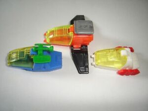 SPACESHIPS SHUTTLES GLIDERS MODEL AIRPLANES SET KINDER SURPRISE TOYS MINIATURES