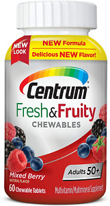 Centrum Adults 50+ Fresh & Fruity Chewables Multivitamin/Multimineral Supplement