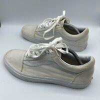 VANS OLD SKOOL TRIPLE TRUE WHITE/WHITE LOW CANVAS CLASSIC SKATE SK8 Size 11