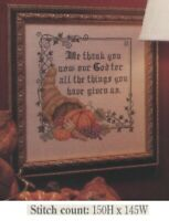 GIVE THANKS   CROSS STITCH PATTERN ONLY   YD   EYEY