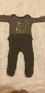 """"""" DADDYS LITTLE BOSS"""" outfit Baby Girl 0-3"""