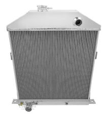 1942-1948 Ford/Mercury Coupe Ford Config All Aluminum 3 Row KR Champion Radiator