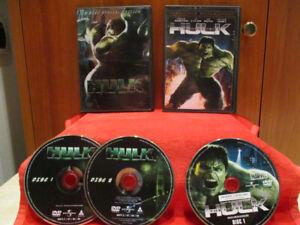 DVD - HULK / L'incredibile HULK (UNIVERSAL) 2003-2008