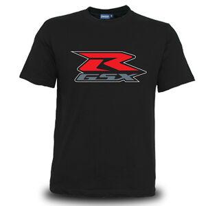Genuine Suzuki R GSX Motorcycle Extreme Superbike Racing Black Men Tee T-Shirt
