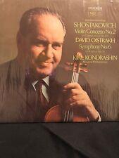 Shostakovich Kiril Kondrashin Conducting Moscow Philharmonic.. LP Vinyl SR-40064