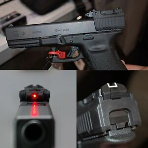 Tactical Glock Laser Sight Rear Red Laser Aiming fit Airsoft17 22 23 26 27 28 37