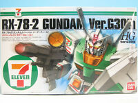HG 1/144 RX-78-2 Gundam ver.G 30th 7-Eleven Limit Color ver. 1.5 Plastic Mod...