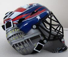 "Olaf Kolzig signed Mini Goalie Mask Helmet Washington Capitals ""Olie The Goalie"""