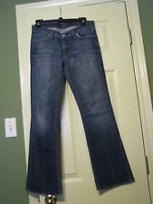 Young Ladies For All Mankind Flip Flop Boot Cut Jeans 27/29