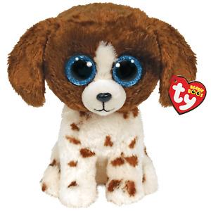 NEW 2021 TY Beanie Boos MUDDLES the Dog Stuffed Animal Toy Plush (6 Inch) MWMTs