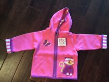 NWT NEW Hanna Andersson Best Ever Toddler Girl Quiltie Jacket Pink Cat 80 2T