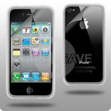 Nuevo claro Bumper Funda Llanta Para Apple Iphone 4 4g
