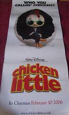 Cinema Banner: CHICKEN LITTLE 2005 (Panel Poster) Zach Braff