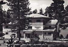 COSENZA SAN GIOVANNI FIORE 02 LORICA - PEDACE - SILA Cartolina FOTOG. viagg 1959