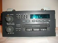 OEM FACTORY DELCO AM/FM/CASSETTE/EQUALIZER STEREO RADIO, IN-DASH 16169175