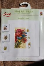 Lanarte Cross Stitch Kit - Poppies Marjolein Bastin - flowers New