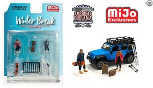 American Diorama Figurines - Hiver Break - Édition Limitée 76462MJ 1/64