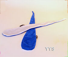 Zeekio Sock Poi - Blue/White - Quality Stretch Material POI with Bean Bags