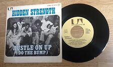 """French 7"""" Hidden Strength Hustle on up  Funk disco 1976 EXC"""