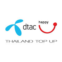 dtac happy Thailand - Top up, Refill - 300 BAHT DIRECTLY