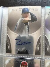St. Louis Cardinals Tom WIndle Signed 2013 Bowman Sterling Auto Card