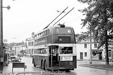 Cardiff Corporation 255 EBO912 BUT 9641T 6x4 TROLLEY Bus Photo Ref P059