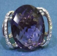 Anelli di lusso in argento sterling Misura anello 18