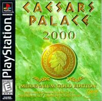 Caesars Palace 2000 Millennium Gold Playstation Game PS1 Used Complete