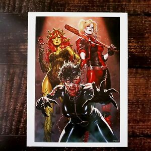 """Harley Quinn DCeased POSTER 12 X 16"""" DC COMICS - COVER ZOMBIES HORROR Catwoman"""