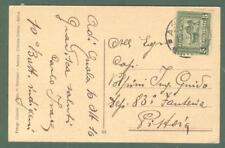 Storia postale colonie. ERITREA. Cartolina del 11.10.1916 da Massaua a Pistoia..