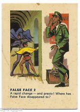 1966 Batman Weeties & Rice Krinkles False Face 2 (Very Good)