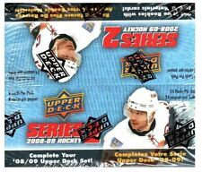 2008-09 UPPER DECK SERIES 2 NHL HOCKEY RETAIL BOX