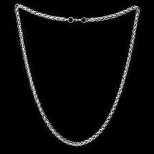 Panzerkette Königskette Zopfkette Halskette Armband Edelstahl Schmuck 16-110 cm