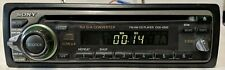 Sony CDX-4250 FM/AM CD Player Car Receiver W/TRIM AND HARNESS FULLY TESTED CLEAN