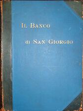 1911 – IL BANCO DI SAN GIORGIO, REPUBBLICA DI GENOVA MARINA ECONOMIA NUMISMATICA