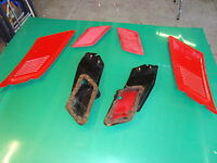 ford escort mk1/2.. estate ..rear wing C pillar vents ( inner and outer ) ......