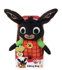 Bing Talking Bing Bunny 30cm Plush Soft Toy
