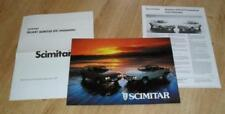 Paper Reliant 1977 Car Sales Brochures