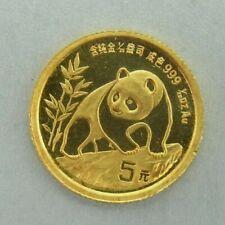 5 Yuan China 1990 Panda Gold ║ M82