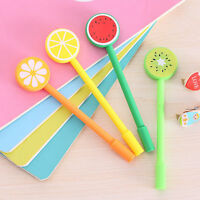 6Pcs Cute Creative Fruits Colorful Ball Pen Office School Supply Stationery NEW