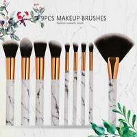 Pro Kabuki Makeup Brushes Tool Set Foundation Powder Blusher Eyeshadow Brush