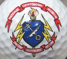 (1) National Cryptologic Museum Logo Golf Ball