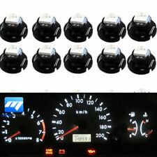 10pcs White T4.7 T5 Neo Wedge LED Bulb Dash Climate Gauge Instrument Base Light
