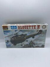 Vintage Bachmann Fujimi SUD Alouette III Helicopter 1:48 Scale Model Kit Sealed